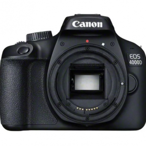Canon 4000D 18MP DSLR Body Only - Black