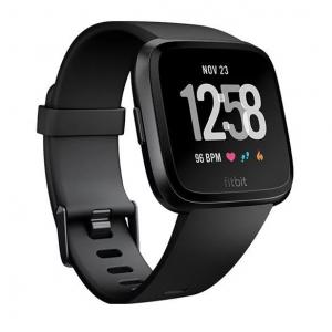Fitbit Versa Fitness Watch Black Aluminium
