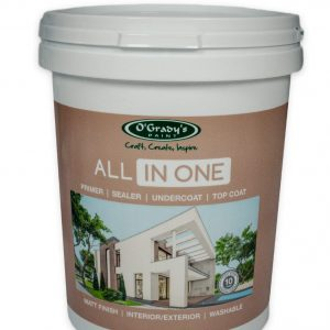 O'Grady Paint - All in one (Primer, Sealer, Undercoat, Top coat).